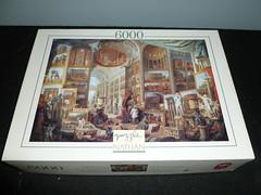 6000 piece puzzle, Views of Ancient Rome, Giovanni Panini, by Jeux Nathan (Billsville Mike) Tags: jigsawpuzzles 3000400050006000800090001200013200educanathanfalconclementoniravensburgerschmidtfxschmid