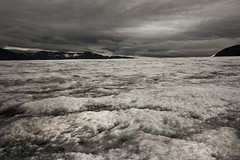 Foxfonna, Svalbard (James . Douglas) Tags: cold ice norway canon river landscape rebel kiss stream glacier svalbard arctic isolation lonely climatechange xsi 450d proglacial idolated widewideanglecold climatechangeglobalwarmingicecap