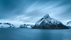 Day as Night (Tommaso Renzi) Tags: cold texture ice norway nikon warm tommaso fjord lofoten fiordo e10 lofotenislands nordland renzi flakstad gnd reinefjord ramberg fylke d300s