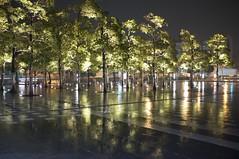 Rain Reflection (Zengame) Tags: reflection rain 35mm tokyo shinagawa 東京 品川 雨 x100 反射 finepixx100