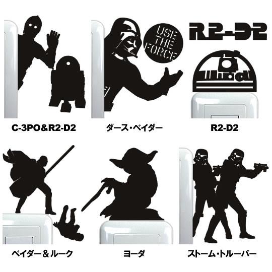 星際大戰超酷牆面裝飾貼紙再推薦!