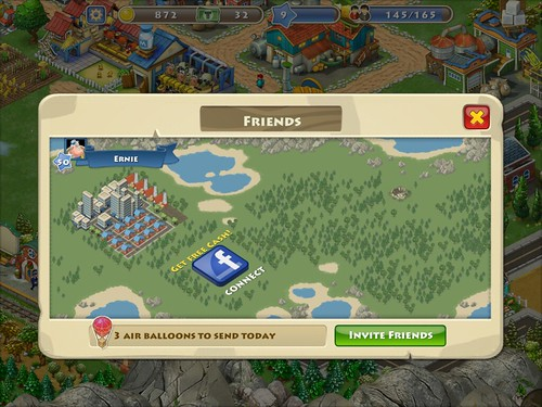 Township Social: screenshots, UI