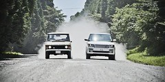 45 years since its inception the Classic #RangeRover and a #SVAutobiography took on some of Japans off-road terrain - #repost from @landrover (landroverorlando) Tags: auto usa cars car orlando automobile florida united group rover land fields fl states autos landrover rangerover luxury automobiles wwwlandroverorlandocom
