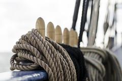 Ropes (Janeees) Tags: nikon sailing ropes tallship sais fishtrap abord d5100