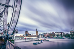 Serene, London, United Kingdom (Syed Ali Warda) Tags: city longexposure greatbritain building london eye clock westminster wheel thames architecture clouds canon river long exposure cityscape unitedkingdom londoneye parliament bigben 7d syed riverthames exposed houseofparliament cityoflondon archi cityofwestminster blueclouds bigbentower bigbenclock canon7d syedaliwarda aliwarda distinbuished