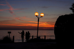 130822_Jullouville_245 (rainerspath) Tags: sunset sea mer france frankreich meer sonnenuntergang bassenormandie jullouville kanalkste