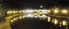 Tevere by night 3 (agennari) Tags: rome roma cupola tiber tevere sanpietro pontesisto