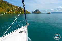 XOKA4500bs2 (www.linvoyage.com) Tags: ocean sunset sea nature girl rock sunrise thailand island boat sailing yacht outdoor dolphin malaysia anchor sail vehicle