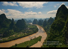 Birdseye view of the Li River from Xianggong Mountain, Xingping, Guangxi Autonomous Region, China (jitenshaman) Tags: china travel mountains tourism nature water river landscape asian liriver li scenery asia guilin yangshuo travellers hill sightseeing chinese aerial tourists hills limestone vista destination peaks overlook viewpoint karst iconic birdseye traveler xianggong guangxi xingping worldlocations