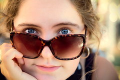 In the eyes of my daughter (MacCabri) Tags: portrait canon eos glasses eyes head daughter 5d 24105mm