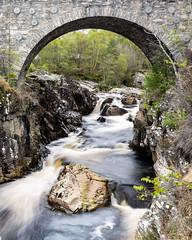 Under The Arch (Gellscom) Tags: longexposure bridge architecture river landscape scotland movement location gellscom gerrymachen