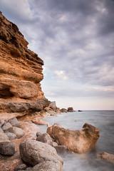 Es Codolar (JLIbiza) Tags: sea costa mar ibiza cielo nubes tormenta rocas baleares tiempo