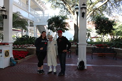 Us With Richard 4 (krisjaus) Tags: disney gingerbreadhouse waltdisneyworld portorleansriverside fortwildernesslodge krisjaus thegrandfloridian richardatthegrandfloridian