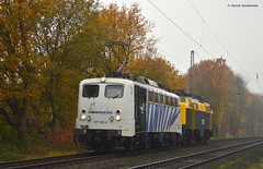 139 260-4 Lokomotion with 1211 NS (vsoe) Tags: germany deutschland lomo zebra nrw oberhausen 139 betuwe ruhrpott ruhrgebeit überführung lokomotion lokzug kbs420