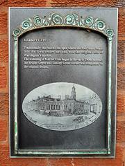 Photo of Market Gate, Warrington black plaque