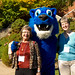 Homecoming weekend 2011, visiting with Herm. Eastern Mennonite University.