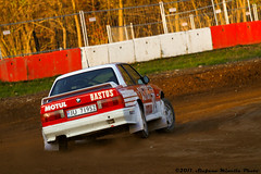 Autocross Maggiora (13/11/2011) - BMW Turn From Back (Stefano.Minella) Tags: from red white yellow turn photoshop canon eos photo back with cross 33  prototype bmw l kart autocross usm postproduction ef f4 stefano lightroom 70200mm 500d 2011 minella novara cs5 maggiora