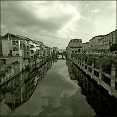Desde el Puente (m@tr) Tags: bw france blancoynegro canon monocromo sigma tarn castres canoneos400ddigital pirineocentral mtr sigma1020mmexdc marcovianna agot rioagot