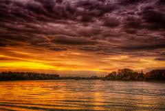 In the evening (Mr.Pixel) Tags: sunset canon eos sonnenuntergang cologne kln explore rhein hdr porz 40d bestcapturesaoi elitegalleryaoi masterclasselite