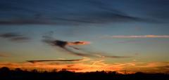 Sunset Panorama (hpaich) Tags: desktop sunset wallpaper sky cloud clouds skies nuvola background horizon cielo nuvem nube desktopwallpaper wolk desktopbackground pilv