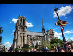 Notre Dame (dh27) Tags: paris canon notredame francia vacaciones hdr