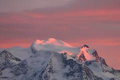 Last rays (Elysium 2010) Tags: sunset landscape summit wallis alpenglow valais 4000 grandcombin alpesvalaisannes