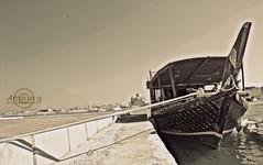 قآرِب إلنسيآن ..)|' (⌯ ̟՝˻ п̵м̱ọ̯͡໐яྀα ˺ ໋, ৩՞) Tags: old sea brown beach canon dark gulf d w f 600 q doha qatar bout d600 qtr الكورنيش قطر الدوحة 600d بحر ameera قديم اثري تراث يخت كورنيش بني أميرة كانون قارب amoora اموره امورة دي لوني اميره برونزي رصيف غامق عزل آميره دي600 سمبوك
