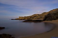 Enrique Ortega (Enrique Ortega) Tags: mar nocturna cala tecnicas percheles horaazul