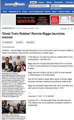 Access Atlanta (Ronnie Biggs The Album) Tags: ronnie biggs greattrainrobbery oddmanout ronniebiggs ronaldbiggs