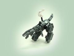 Robot Dinosaur (aabbee 150) Tags: dark robot punk dino lego dinosaur diesel steam 150 bi ped mecha mech bley foitsop aabbee