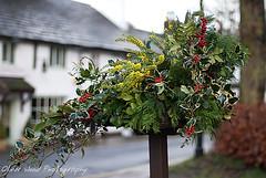 Prestbury Village Christmas decorations (Oliver Wood Photography) Tags: street party village christmass 2011 prestbury