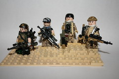 Elite Sniper Group, ESG (kenneth nielsen a.k.a Qenhyt) Tags: lego group elite sniper minifigs custom weapons mods brickarms