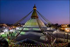 Boudhanath Stupa, Kathmandu, Nepal (Souvik_Prometure) Tags: nepal sunset sunrise dusk unescoworldheritagesite unesco worldheritagesite kathmandu bluehour boudhanath pokhara sarangkot nagarkot phewalake swayambhunath fewalake phewatal sarankot machapuchare boudhanathstupa annapurnarange sigma1750mm sigma1750mmf28 nikond7000 souvikbhattacharya mountannapurna mountmachapuchare