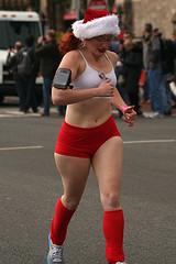 santa speedo run 2011 (iamtonyang) Tags: santa christmas xmas winter holiday cold boston underwear run speedo 2011