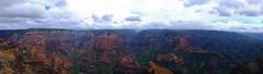 Waimea Canyon, Kauai (vespir) Tags: trees panorama nature island hawaii canyon kauai tropical