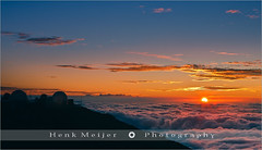 Sunset above the Clouds - Haleakala N.P - Maui - Hawaii (~ Floydian ~ ) Tags: ocean sunset vacation usa cloud sun tourism colors clouds canon stars landscape lights star volcano hawaii high warm view unitedstates state pacific dusk altitude postcard ground maui observatory telescope haleakala crater postcards astronomy 50 viewpoint telescopes meijer henk based abovetheclouds sience haleakalanationalpark astrophysical warmcolours shieldvolcano holdiday houseofthesun hawaii50 floydian haleakalahighaltitudeobservatory proframe proframephotography canoneos1dsmarkiii henkmeijer