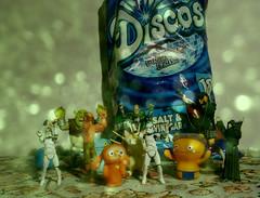 disco (horsesqueezing) Tags: disco toys shrek pulpfiction terminator ymca uglydolls theemperor villagepeople clonetroopers jacabob soundtrackmonday bigarmsmcnasty