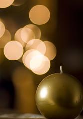 Ormai ci siamo...... (Zani Samuele) Tags: canon bokeh 85mm luci f18 natale candela oro palledinatale 1000d zanisamuele