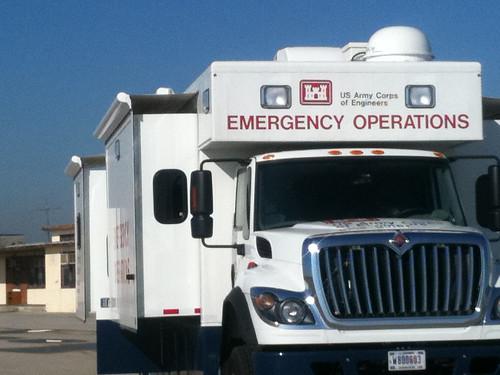 truck emergency disasterresponse usace emergencyresponse usarmycorpsofengineers rrv eccv emergencyoperation losangelesdistrict southpacificdivision emergencycommandandcontrolvehicles