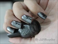 Tribal Print (Lelê Breveglieri) Tags: nail polish unha opi esmalte lucernetainlylookmarvelous nailchallegen