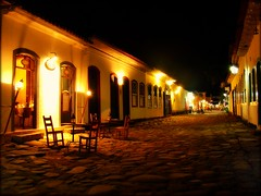 An Old Street by Night (Serlunar (tks for 6.2 million views)) Tags: brazil paraty flickr photos fotos flickrduel serlunar