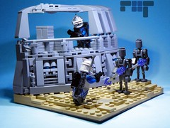 Mission 12.1 (Brickcentral) Tags: trooper star jake lego awesome arc corps wars custom build clone vignette legion commando advanced 26th flipside lieutenant moc recon 16x16 purist blayde 457th magnaguard brickcentral