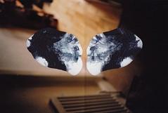 (vanillaa) Tags: film print paint experiment overpaint