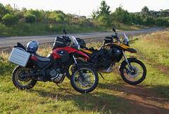 Las Hermanas (João Carlos Ebone) Tags: sc motorbike moto bmw motorcycle gs motocicleta motorrad motociclismo mototurismo f800 g650