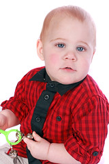 Robert (JonCoupland) Tags: 2 portrait smile boston pose studio children photography jon doll child photoshoot 10 young giggle grin months coupland swineshead mainwaring fishtoft