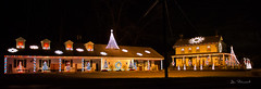 Christmas Lights-Riegelsville, PA (dfbphotos) Tags: christmas winter usa nikon december pa buckscounty riegelsville 2011 buildingnightlights