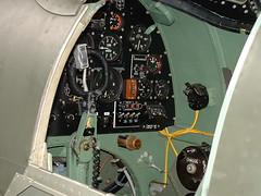 Spitfire MK16 (Martin D Stitchener PiccAddo Photography) Tags: photography photo flickr cockpit 2006 duxford spitfire warbird flyinglegends twitter martinstitchener dxhawk