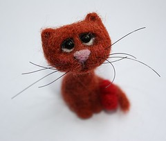 c5 (agaFil) Tags: cat felting felt needlefelt