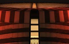 Modernist cylinder, by night (fotoeins) Tags: sanfrancisco california travel night canon geotagged eos lights us downtown sfmoma museumofmodernart cylinder modernist xsi mariobotta canonef50mmf14usm eos450d henrylee 450d fotoeins henrylflee geo:lat=37785816 geo:lon=122400907 fotoeinscom