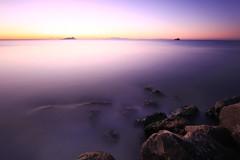 Dawn Of The Last Day Of The Year (Luca Libralato) Tags: longexposure sea sunrise dawn rocks latina canon1022 canoneos50d nd110filter marelatina latinawaterscape